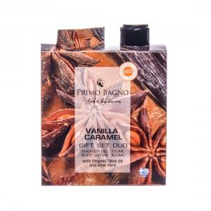 Vanilla Caramel Λοσιόν Σώματος 100ml & Αφρόλουτρο 150ml Σετ Δώρου