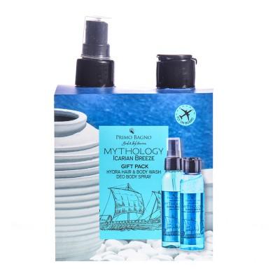 Icarian Breeze Deo Aroma 100ml Hair & Body Wash 100ml