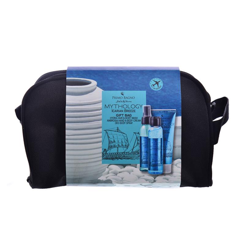 Icarian Breeze Deo Aroma 100ml Hair & B. Wash 100ml Hand Cream 75ml Σετ Δώρου