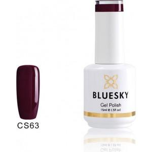 BlueSky UV Color Gel Plum Wine CS63P 15ml Νύχια