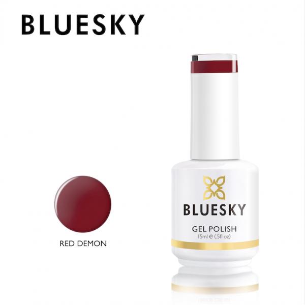 BlueSky UV Color Gel Red Demon 15ml Νύχια