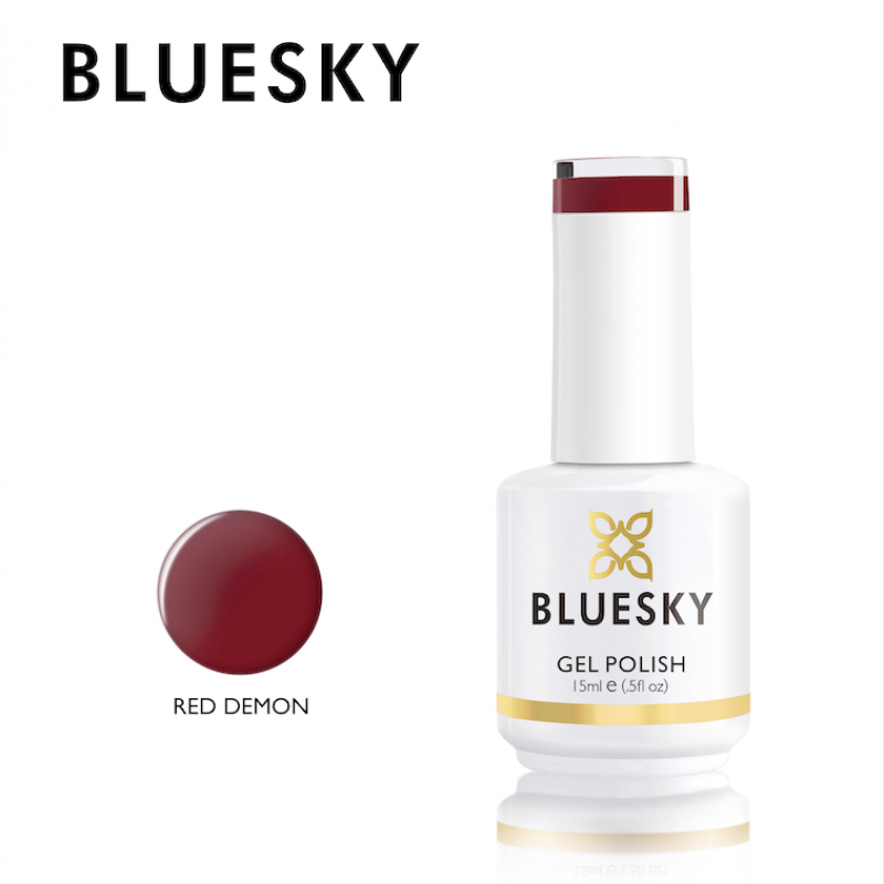 BlueSky UV Color Gel Red Demon 15ml Νύχια