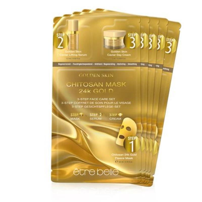 Golden Skin Maske - 5er Set 1Pcs Μάσκες Ομορφιάς