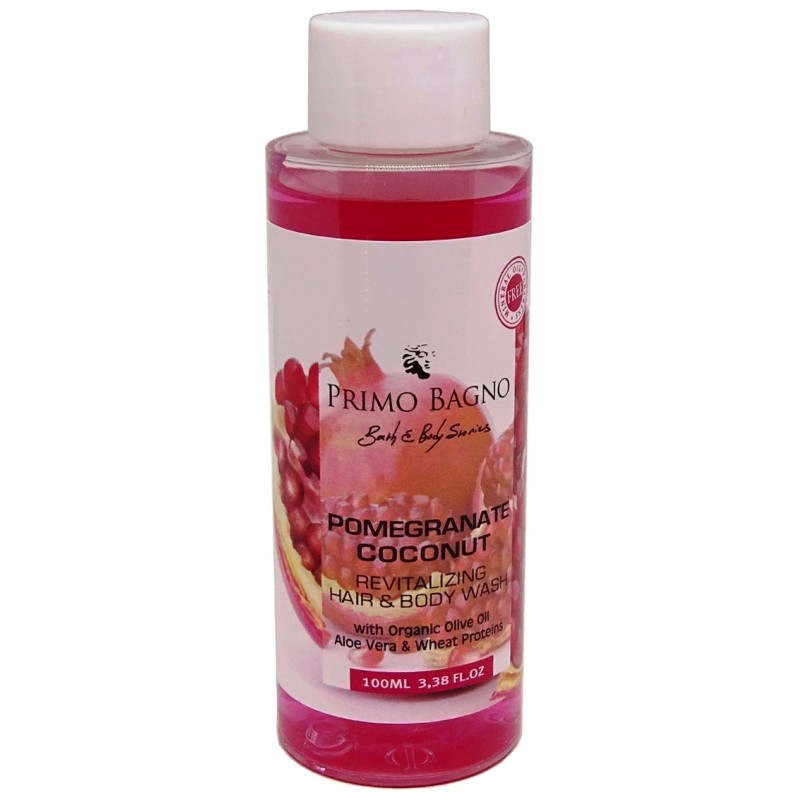 Αφρόλουτρο Pomegranate Coconut 100ml Φροντίδα Σώματος
