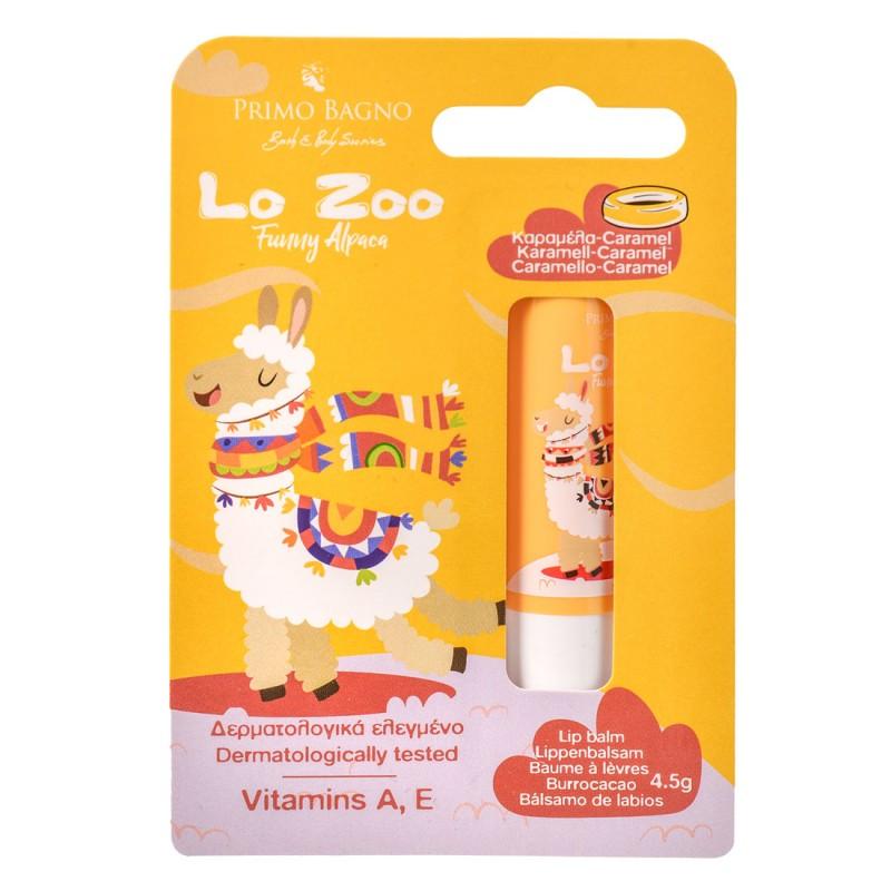 Lo Zoo Funny Alpaca Caramel Lip Balm 4.5g Παιδική Φροντίδα