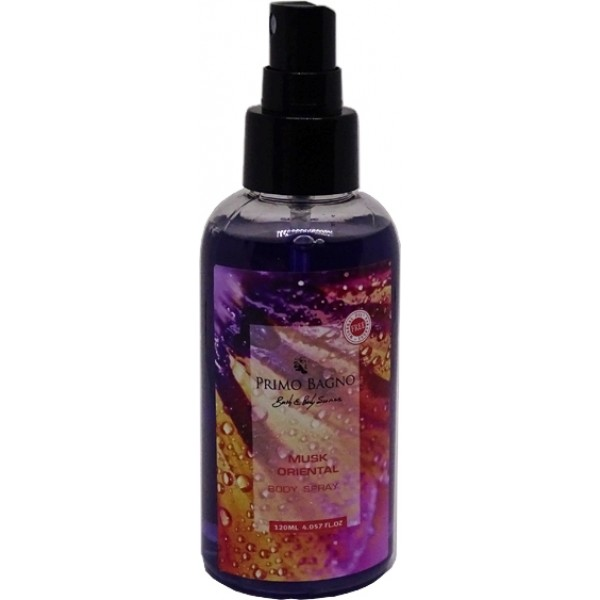 Body Mist Musk Oriental120ml Body Care