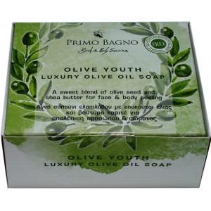 Αγνό Σαπούνι Ελαιολάδου Olive Youth 130gr Φροντίδα Σώματος