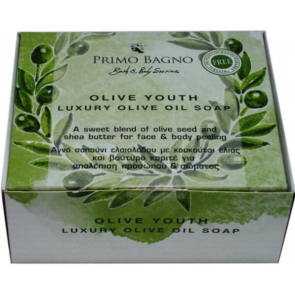 Αγνό Σαπούνι Ελαιολάδου Olive Youth 130γρ Φροντίδα Σώματος