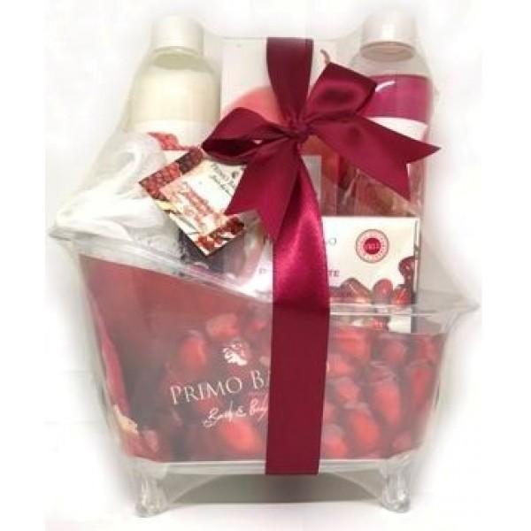 Σετ Δώρου Μπανιέρα Pomgranate Coconut 5τμχ Σετ Δώρου