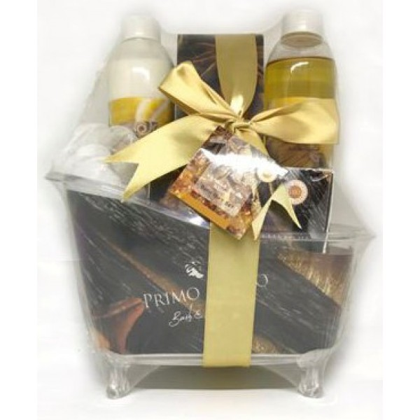 Gift Set Bath Tube Vanilla Bean & Shea 5pcs Gift Set