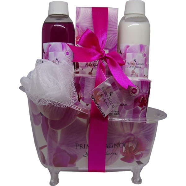 Gift Set Bath Tube Wild Orchid 5pcs Gift Set