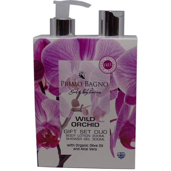 Paper Gift Set Wild Orchid 2pcs Gift Set