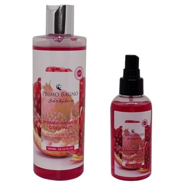 Αφρόλουτρο & Body Mist Pomegranate Coconut Φροντίδα Σώματος