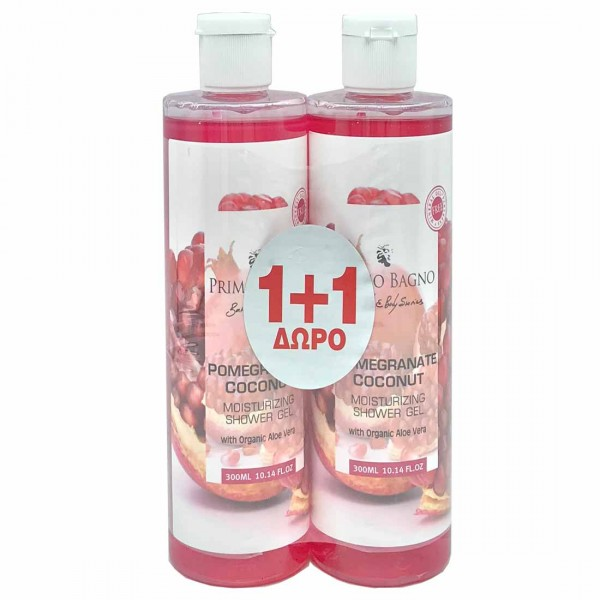 Αφρόλουτρο Pomegranate Coconut 300ml