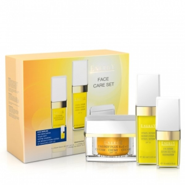 Energy Vitamin Face Care Set (3τμχ) Facial Treatment