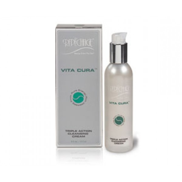 Vita Cura Triple Action Cleansing Cream 177ml Facial Treatment