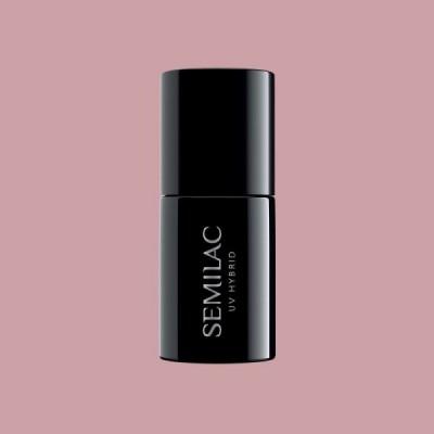 372 Ημιμόνιμο βερνίκι Semilac Sandal Tree Pink 7ml