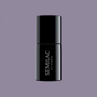 374 Ημιμόνιμο βερνίκι Semilac Dusty Purple 7ml