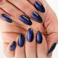 613 Ημιμόνιμο βερνίκι Semilac Cat Eye Blue 7ml Νύχια