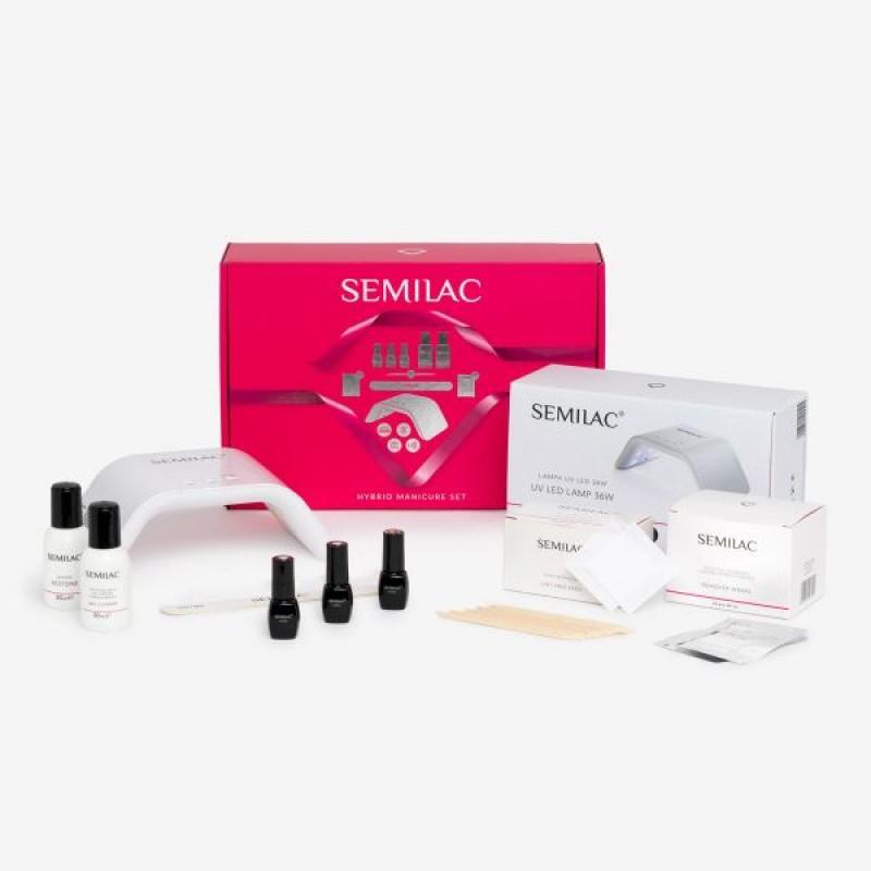 Πακέτο ξεκινήματος Semilac EXCITING UV HYBRID 36W Νύχια